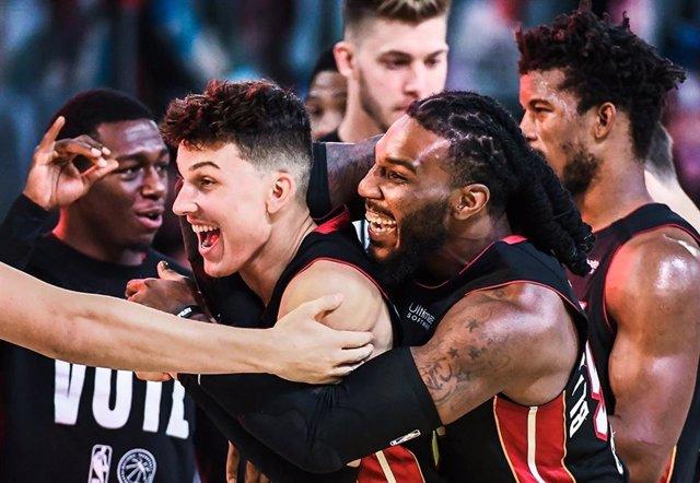 Baloncesto/NBA.- Miami Heat rozan las Finales tras sumar su tercera victoria ant