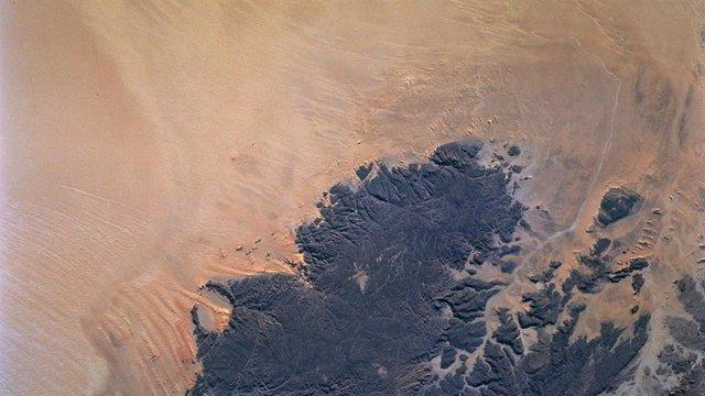 Imagen satelital del Desierto del Sáhara