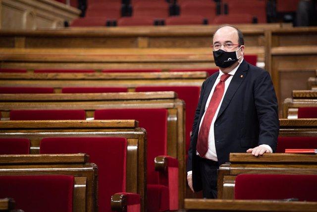 Iceta sugiere que la presencia del Rey en Barcelona en vísperas de la sentencia