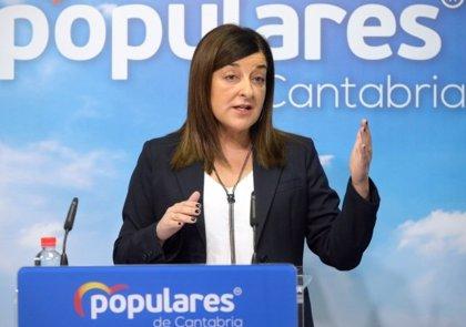Buruaga avisa a Revilla que el PP sólo apoyará un presupuesto expansivo