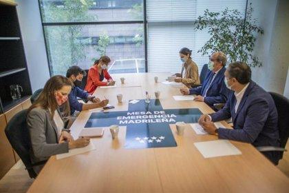 """PSOE y Más Madrid insisten en que Cs """"tiene una silla"""" para dialogar sobre la necesidad de un """"cambio de Gobierno"""""""