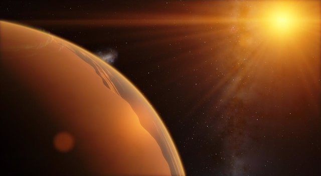 Nuevo método para detectar agua en las nubes altas de exoplanetas