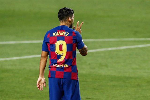 """Fútbol.- Luis Suárez: """"El entrenador no contaba conmigo"""""""