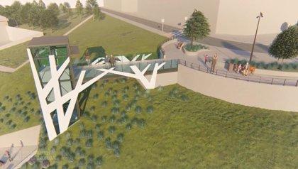 El ascensor panorámico de Torrelavega podría estar en funcionamiento el próximo verano