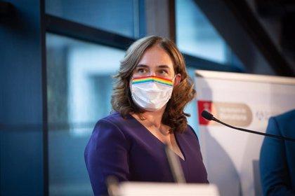 """Ada Colau pide responsabilidad en una fiesta de La Mercè """"diferente y atípica"""" por la pandemia"""