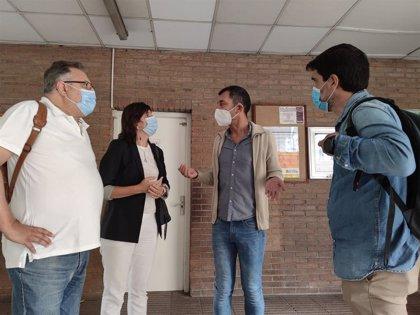 El PSOE exige reforzar la limpieza en los colegios de Zaragoza y la presencia de la Policía Local