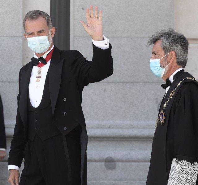 AM- Lesmes expondrá el malestar del CGPJ por el veto al Rey durante su discurso