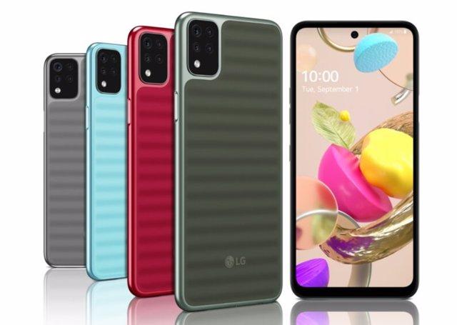 La serie K de LG presume de diseño y características a precios asequibles ante s