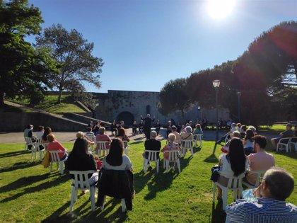 Más de 2.000 personas han disfrutado durante el verano de conciertos de música al aire libre en rincones de Pamplona