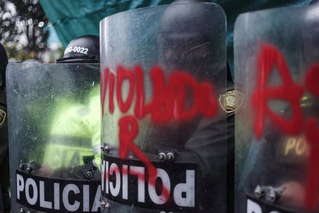 Protestas contra la Policía en Bogotá