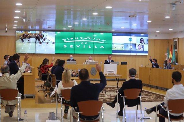 Pleno de la Diputación de Sevilla