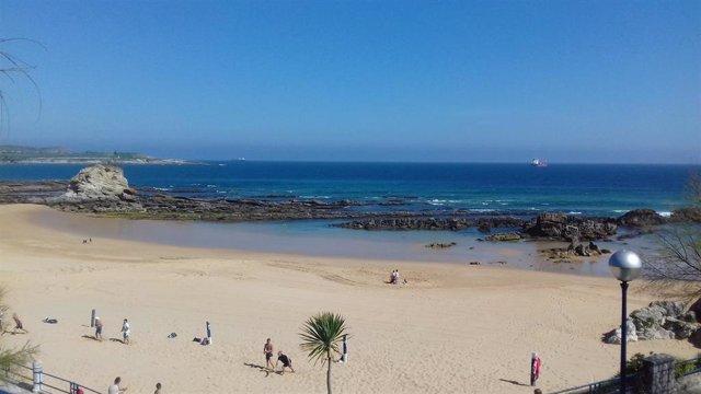 Playa del Camello de Santander