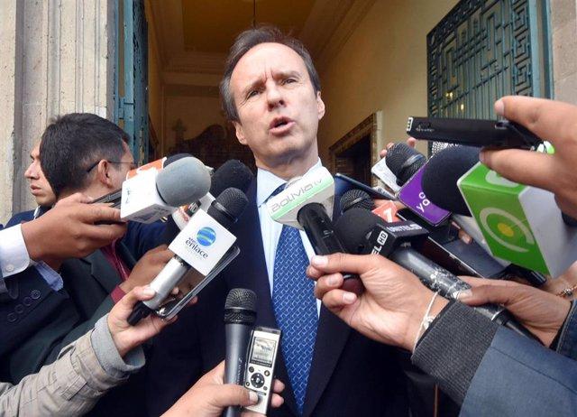 Jorge Tuto Quiroga, candidato a la Presidencia de Bolivia.