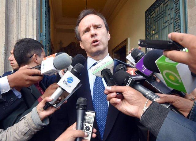 Bolivia.- El expresidente Tuto Quiroga descarta retirar su candidatura en Bolivi