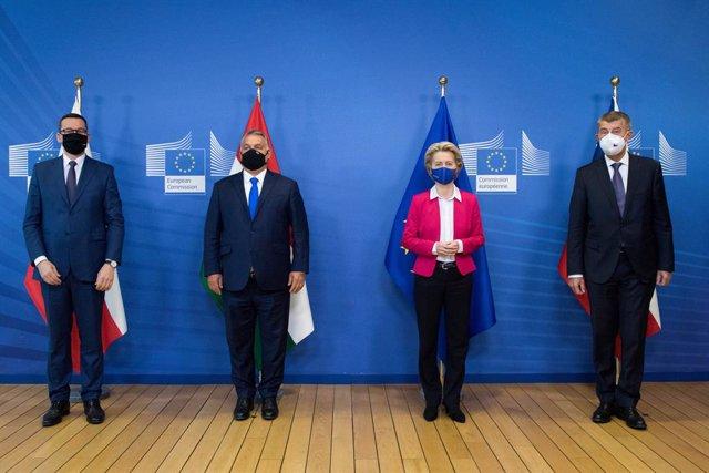UE.- Hungría, Polonia y República Checa se unen contra el pacto migratorio propu