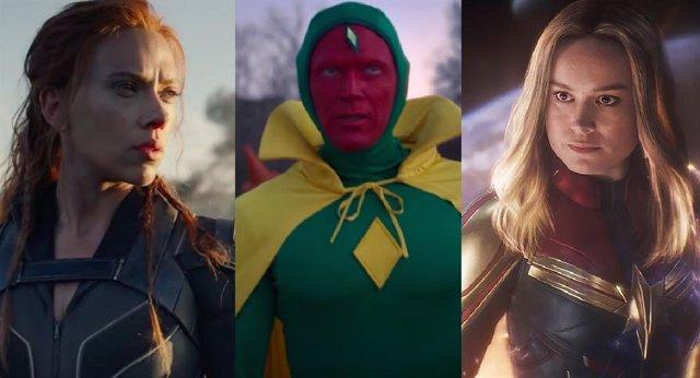 Fecha de estreno de series y películas de Marvel