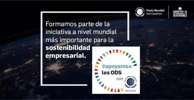 Cofares se une a la campaña '#apoyamoslosODS' para trabajar la difusión de Objetivos de Desarrollo Sostenible