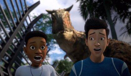 El final de Jurassic World: Campamento Cretácico es canon de la saga Jurassic Park