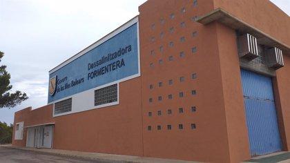 Aprobada la redacción del proyecto de rehabilitación del depósito de la desaladora de Formentera