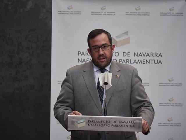 El icepresidente primero del Gobierno de Navarra, Javier Remírez