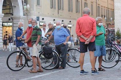 Italia suma casi 1.800 contagios más y mantiene el ritmo ascendente