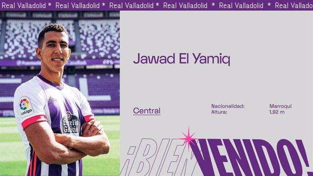 Fútbol.- El marroquí El Yamiq refuerza la defensa del Real Valladolid