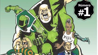 El cómic 'Inclusion Man' creado por Plena Inclusión Montijo incorpora una adaptación a audio