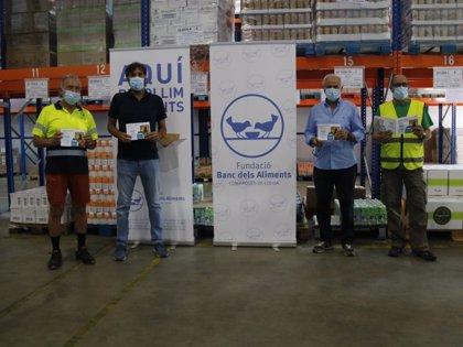 El Banco de Alimentos de Lleida prevé necesitar mil toneladas en seis meses