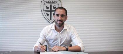 Diego Godín ficha por el Cagliari hasta 2023