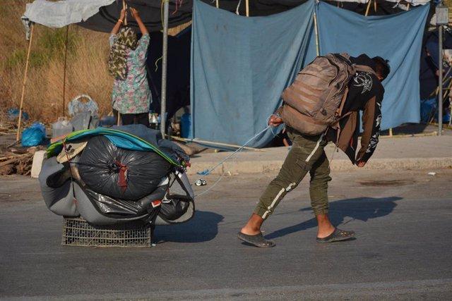 """Grecia.- ACNUR insiste en """"acciones urgentes"""" para aliviar las condiciones """"inac"""