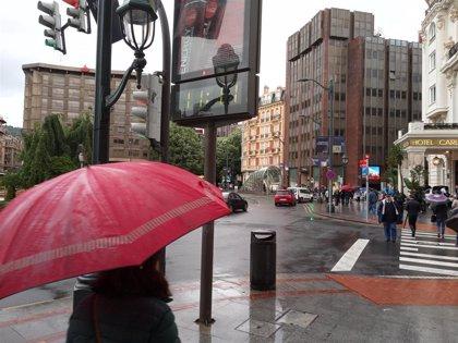 Tiempo lluvioso y descenso de temperaturas, con máximas de 16 grados, este viernes en Euskadi