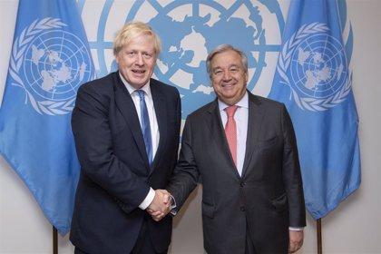 """La ONU y Reino Unido anuncian un evento """"histórico"""" para impulsar la acción climática mundial"""