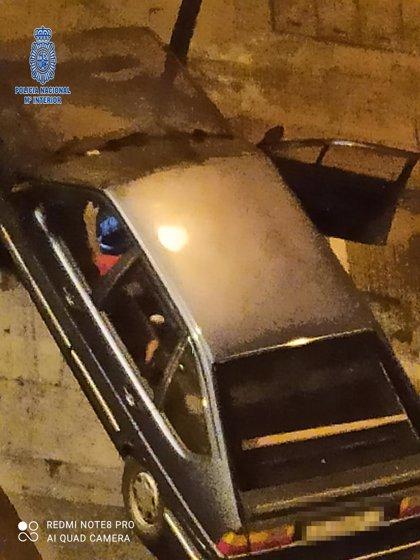 Detenido 'in fraganti' un joven que acababa de robar un vehículo estacionado en pleno centro de Logroño