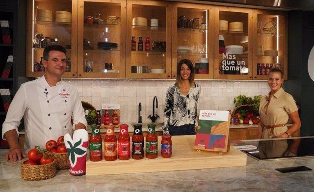 Iván Sáez, Elisenda Picola y Patricia Montero