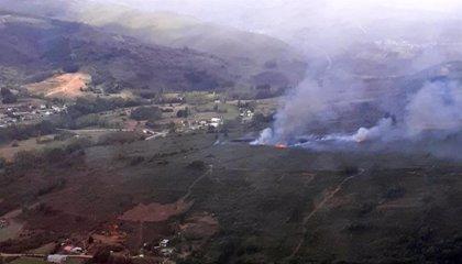 Extinguidos dos fuegos intencionados en Sesamo (León) y Sanzoles (Zamora)