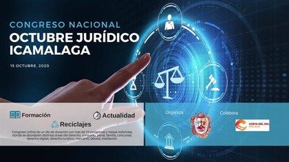 El Colegio de Abogados de Málaga celebra el congreso nacional online 'Octubre Jurídico Icamalaga'