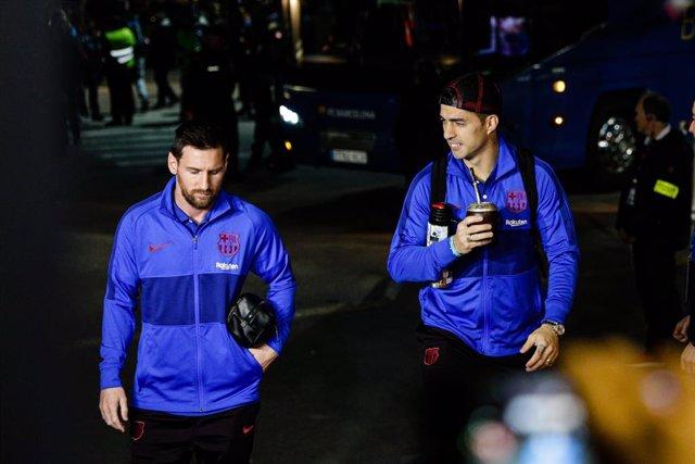 """Fútbol.- Messi, a Suárez: """"No mereces que te echen como lo hicieron"""""""