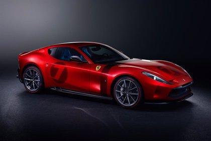 Ferrari muestra su nuevo Omologata, un vehículo único fabricado para un cliente europeo