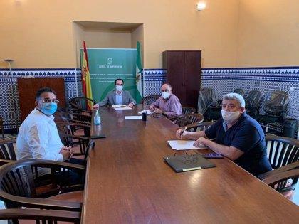 Economía.- Coronavirus.- La Junta aborda con vendedores ambulantes de Los Pedroches la situación por el covid