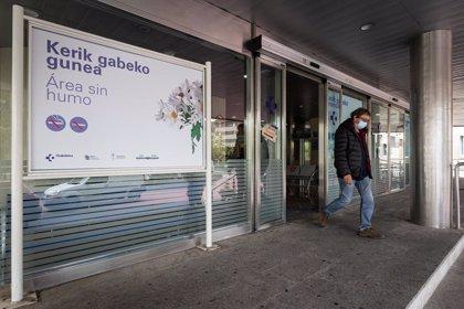 Descienden los contagios en Euskadi, con 383 nuevos casos, y baja al 4,2% el porcentaje de positivos sobre PCR