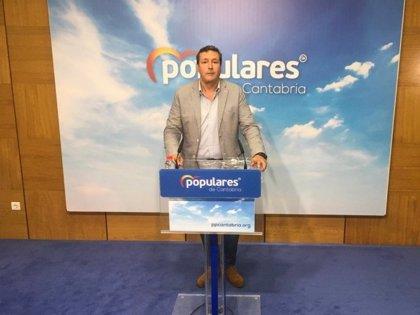 """El PP afirma que el consejero de Industria lleva cuatro años dando plazos para La Pasiega que """"no cumple"""""""