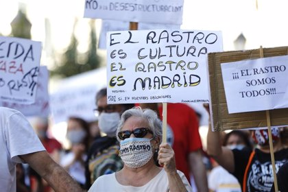 Comerciantes del Rastro frenan sus concentraciones durante dos semanas ante la evolución de la pandemia en Madrid