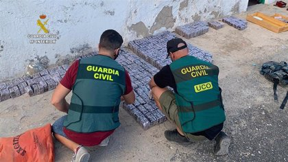 Detienen a 19 personas y desmantelan una red que introducía hachís en Canarias desde África