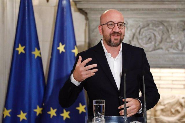 UE.- Michel concluye su cuarentena tras un segundo negativo y confirma la cumbre