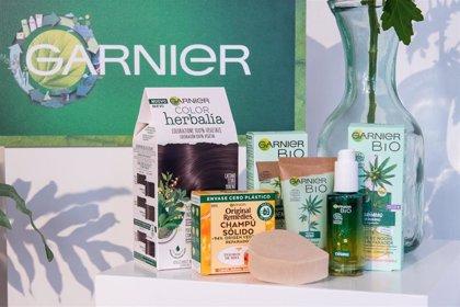 Garnier ahorrará 37.000 toneladas de plástico cada año a partir de 2025 gracias a su proyecto 'Green Beauty'