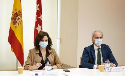 """El Gobierno de Ayuso ve """"discriminación"""" en que Illa pida el """"confinamiento"""" para Madrid y no para el resto de España"""