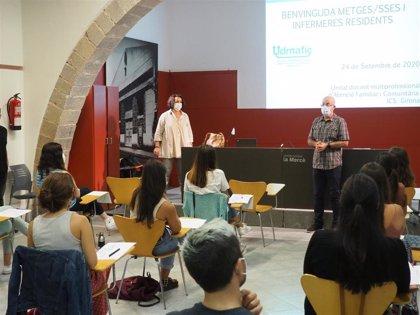 70 MIR inician su especialización en centros del ICS de Girona