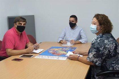 Diputación de Cádiz y la Asociación de Gestores Culturales avanzan en su colaboración en materia de cultura