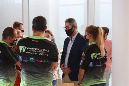 La élite del waterpolo femenino andaluz se da cita este fin de semana en Málaga de la mano de la Diputación