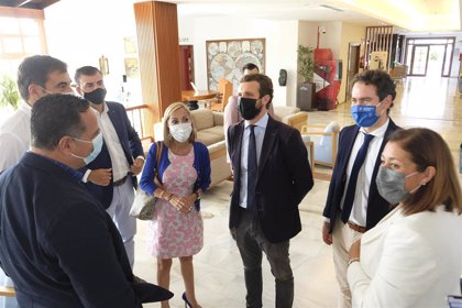 """García Egea desmarca al PP de una censura en las islas aunque admite que """"Canarias está sin voz en Madrid"""""""